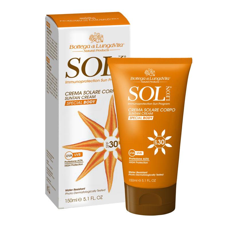 Bottega Di Lungavita Sol Leon Suntan Cream Body SPF 30