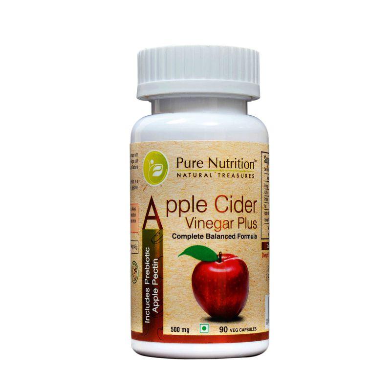 Pure Nutrition Apple Cider Vinegar Plus 90 Capsules
