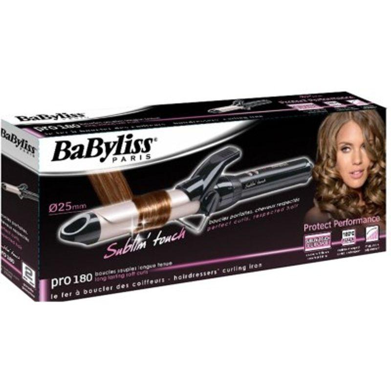 BaByliss Curling Iron - Buy BaByliss C325E Medium Hair Curler - Beige    Black Online in India 20ac8209d1