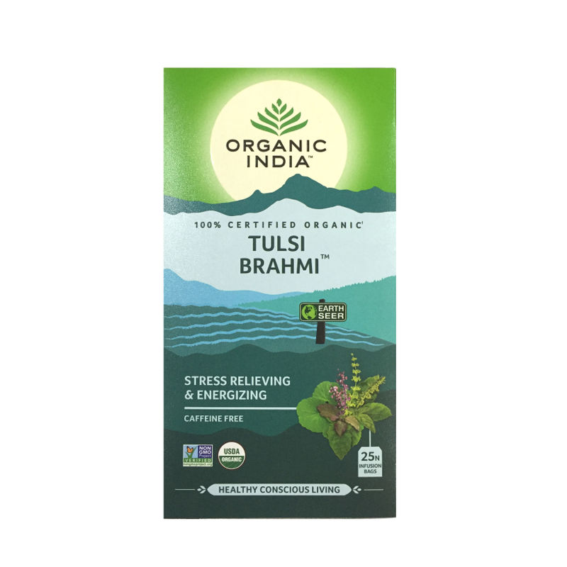 Organic India Tulsi Brahmi Tea (25 Tea Bag)
