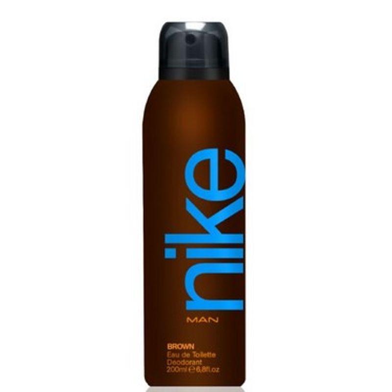 Nike Brown Eau De Toilette Deodorant Spray For Man