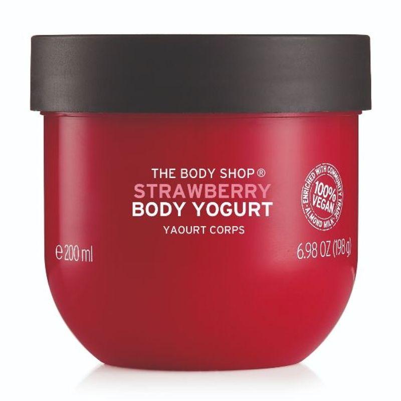 The Body Shop Strawberry Body Yogurt