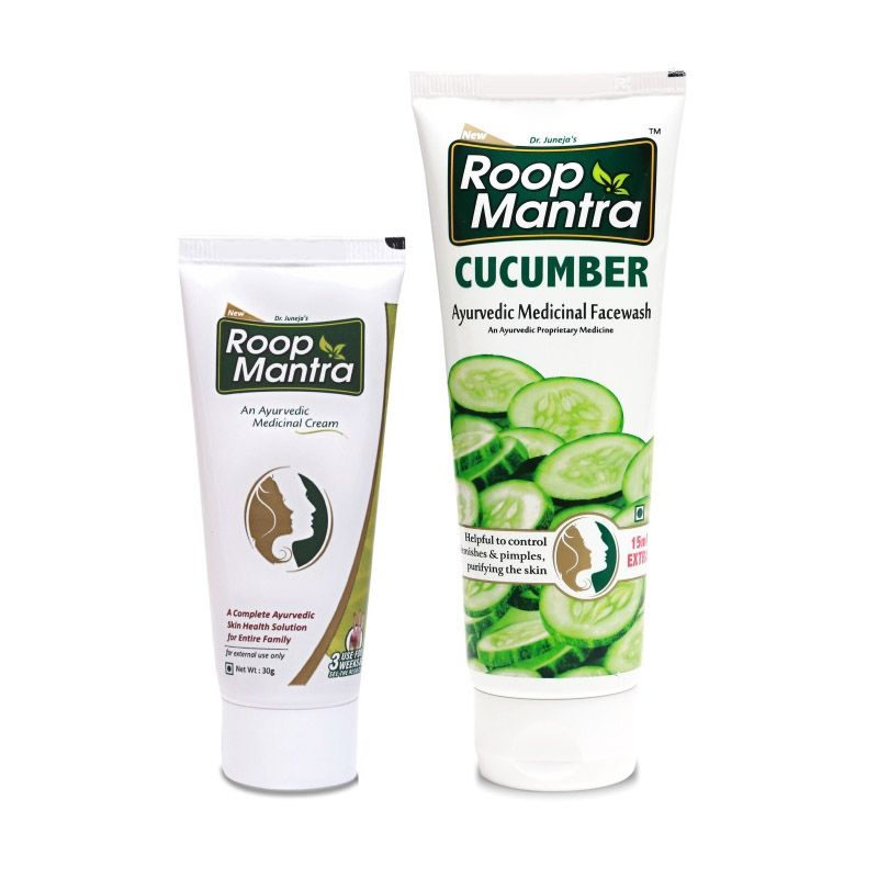 Roop Mantra Combo (Face Cream + Cucumber Face Wash)