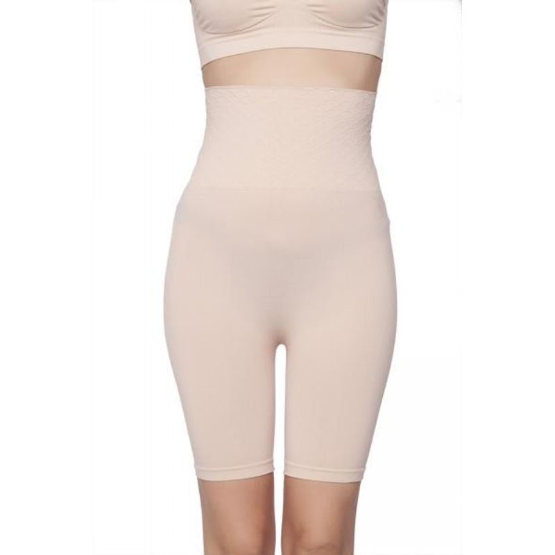 ff48f1d31e899 C9 Seamless Women Solid Nude Thigh Shapewear - Nude at Nykaa.com