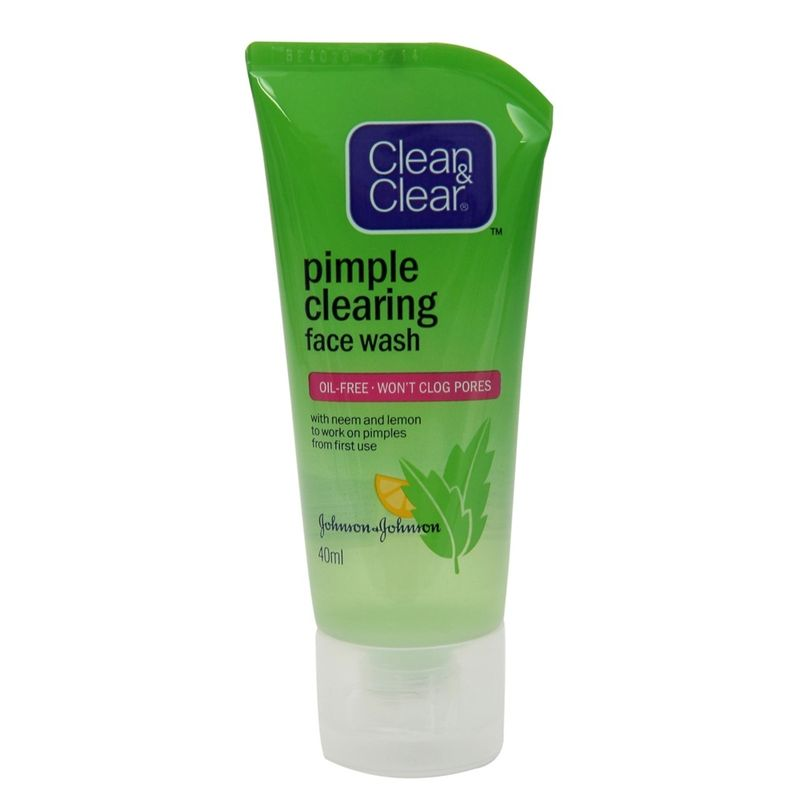 Clean & Clear Pimple Clearing Face Wash - 8901012189085