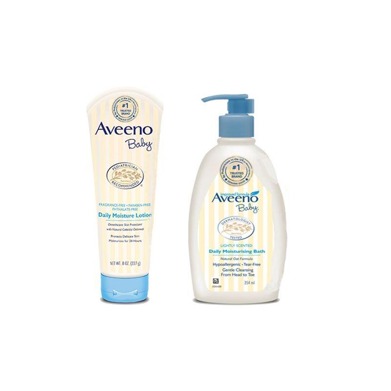 Aveeno Baby Bath And Body Combo