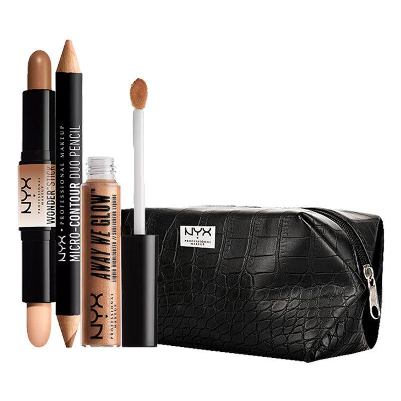 NYX Professional Makeup Contour Goals By Neha Desai Gold Rush Medium Deep