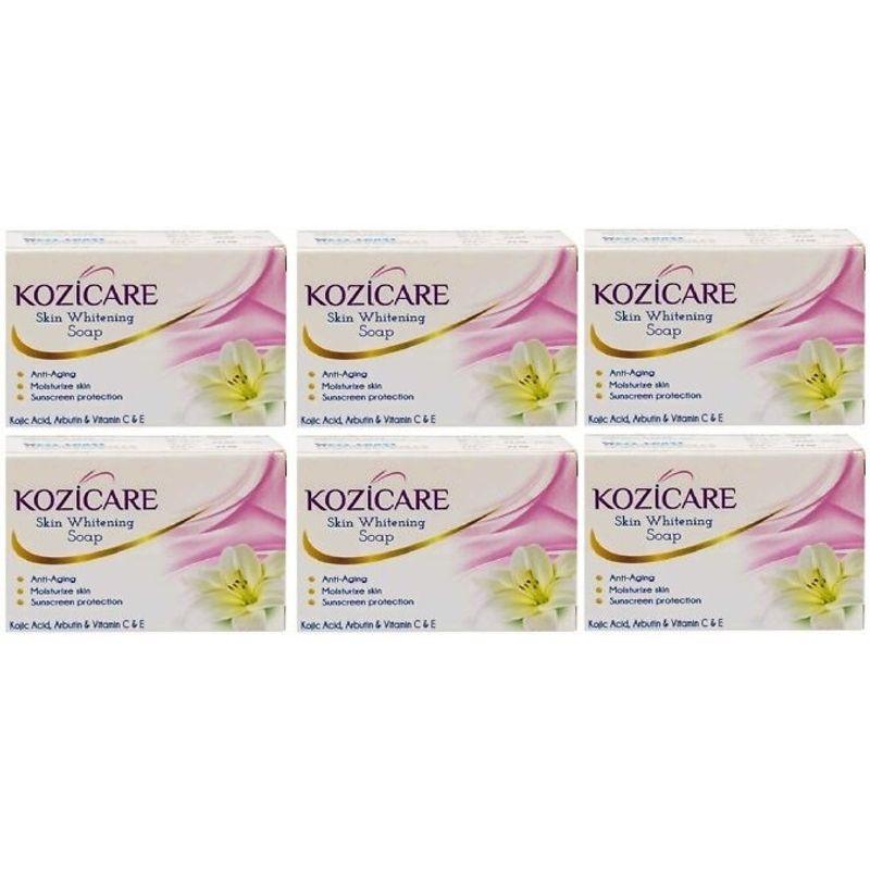West Coast Kozicare Skin Whitening Soap (Pack Of 6)
