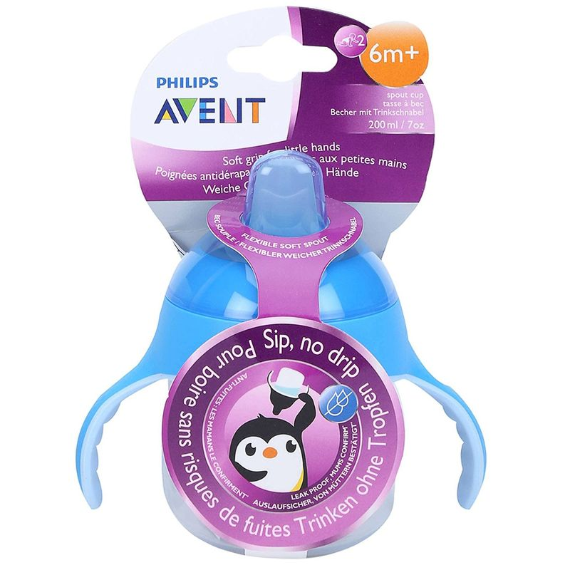 Philips Avent Premium Soft Spout Cup - Blue - Single Pack