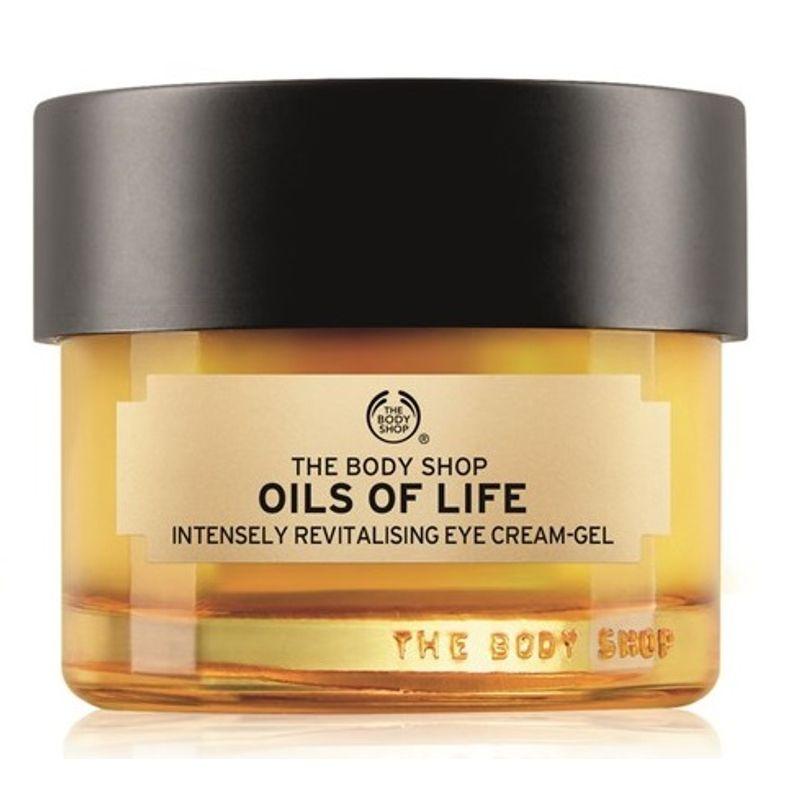 The Body Shop Oils Of Life Intensely Revitalising Eye Cream-Gel