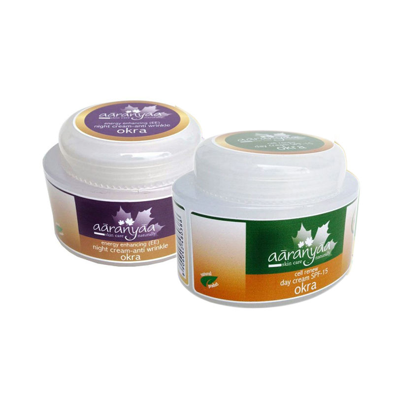 Aaranyaa Energy Enhancing (Ee) Anti-Wrinkle Night Cream + Free Aaranyaa Cell Renew Day Cream - Spf 15
