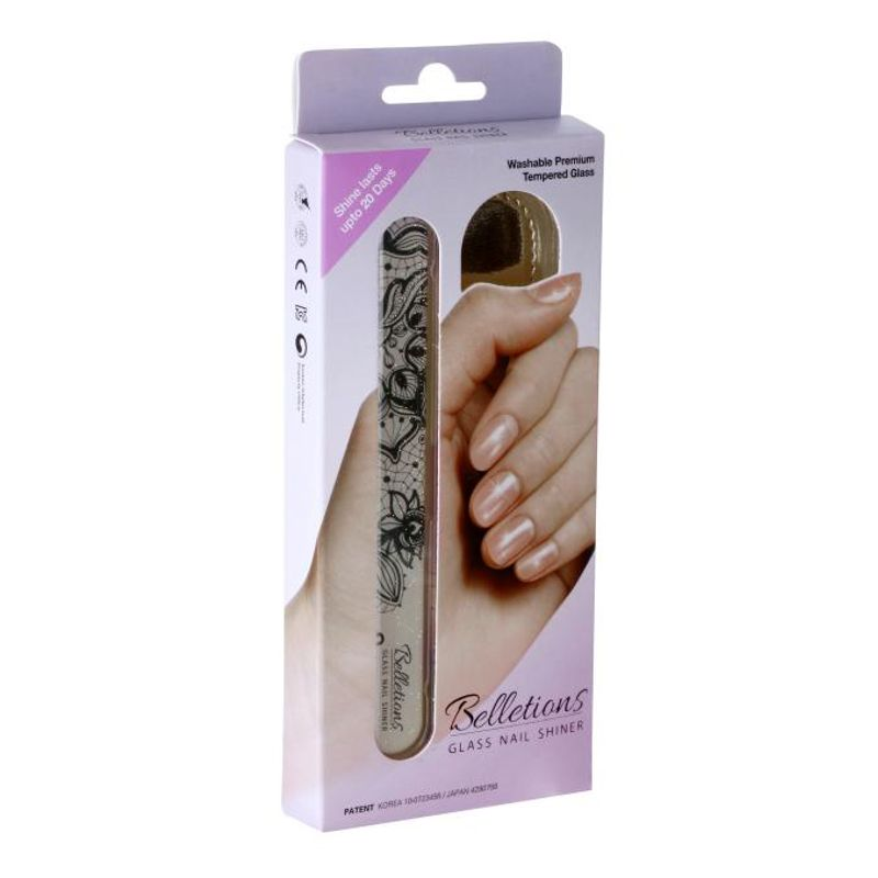 Belletions Glass Nail Shiner (Ethnic Brown)