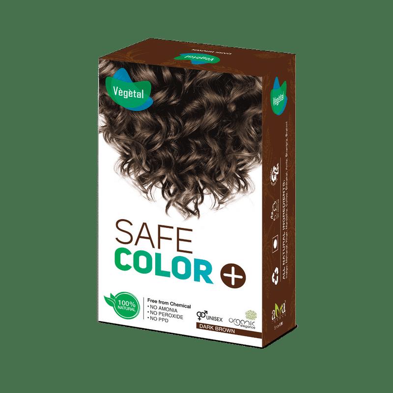 Vegetal Hair Color Buy Vegetal Safe Color Dark Brown Online In