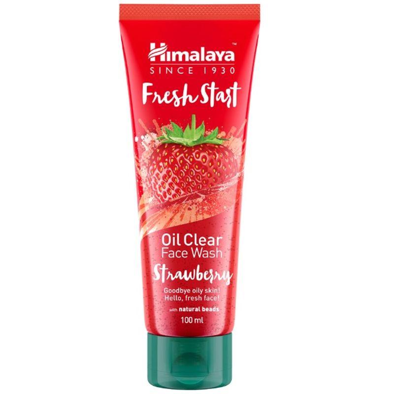 Himalaya Herbals Fresh Start Oil Clear Face Wash Strawberry