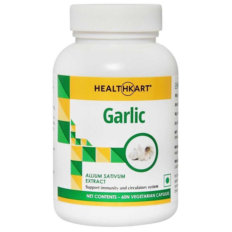 HealthKart Garlic 60 Capsules