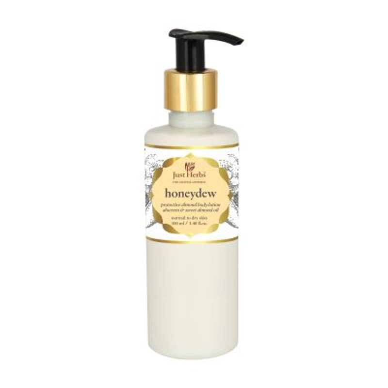Just Herbs Honeydew Protective Almond Body Lotion