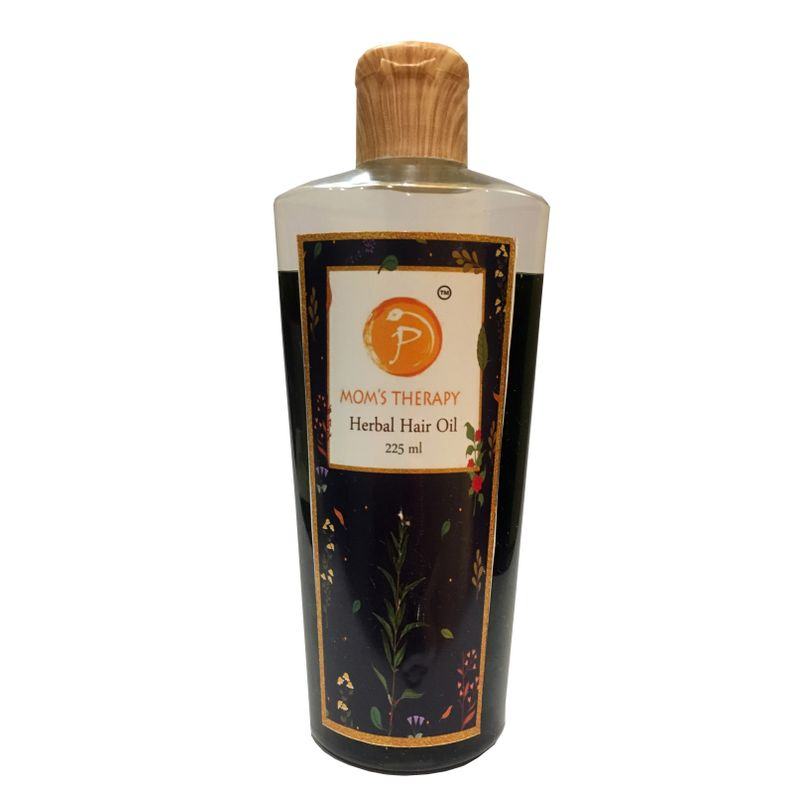 Mom's Therapy Herbal Hair Oil - NYKMOMTHRY001