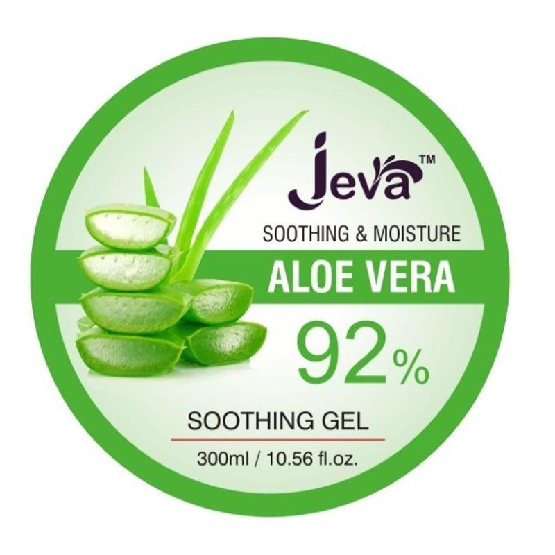 Jeva 92% Pure Aloe Vera Gel For Hair And Body