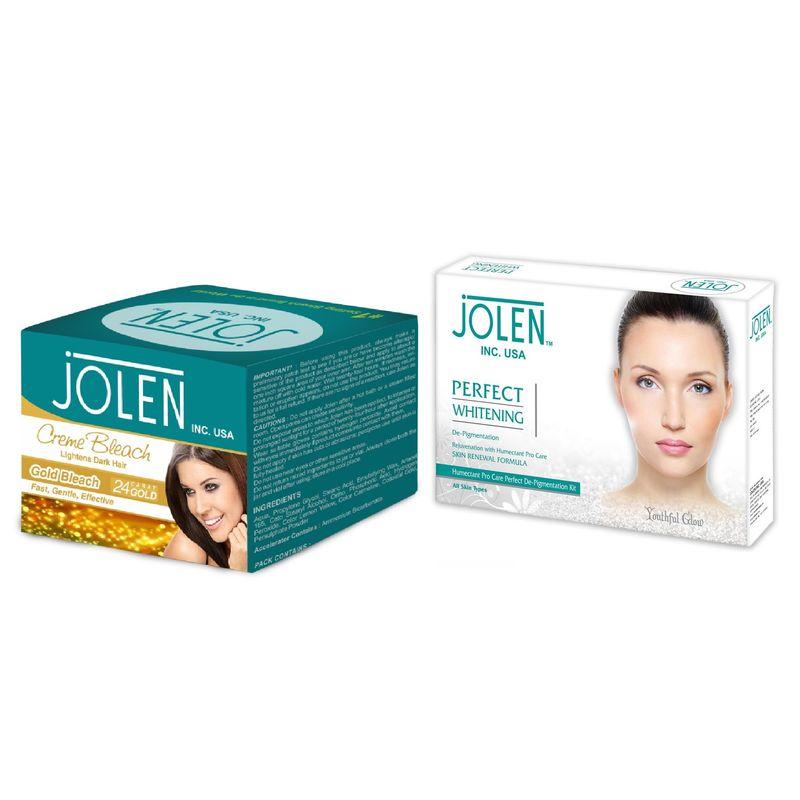 Jolen Facial Kits Buy Jolen Gold Creme Bleach Free Perfect