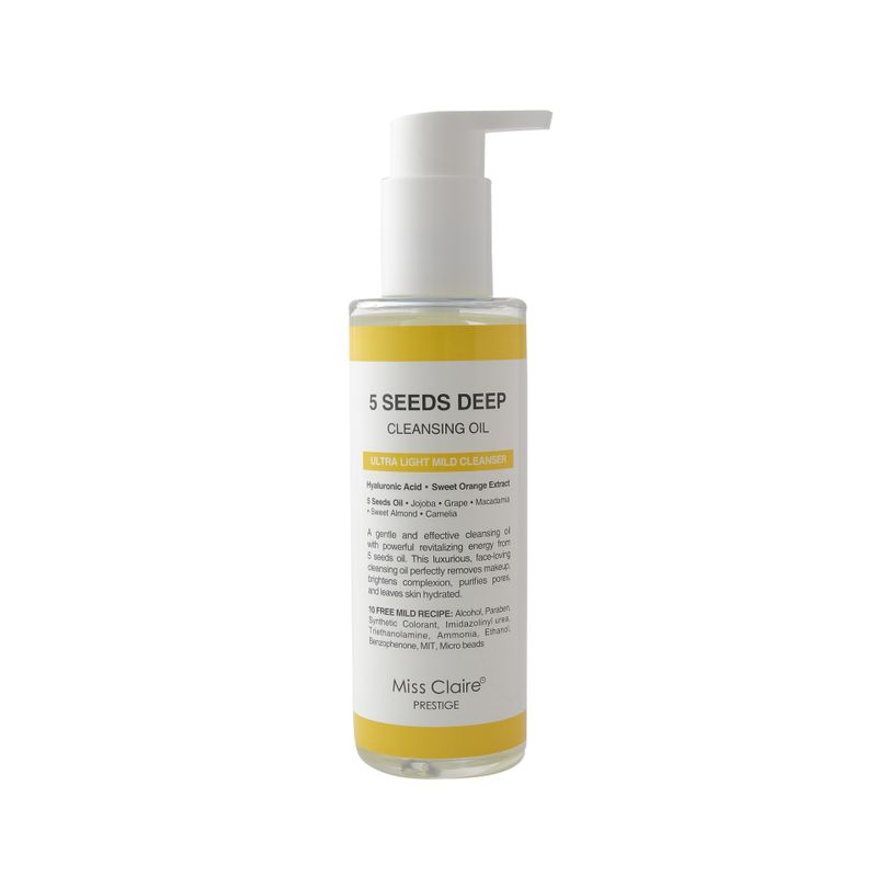 Miss Claire Prestige 5 Seeds Deep Cleansing Oil