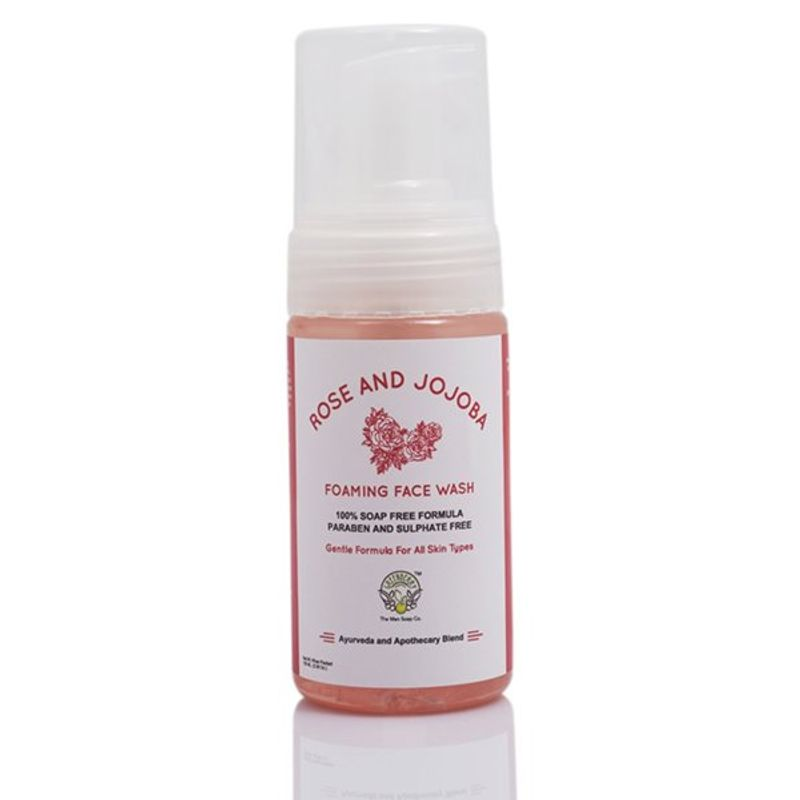 Greenberry Organics Rose And Jojoba Oil Foaming Face Wash