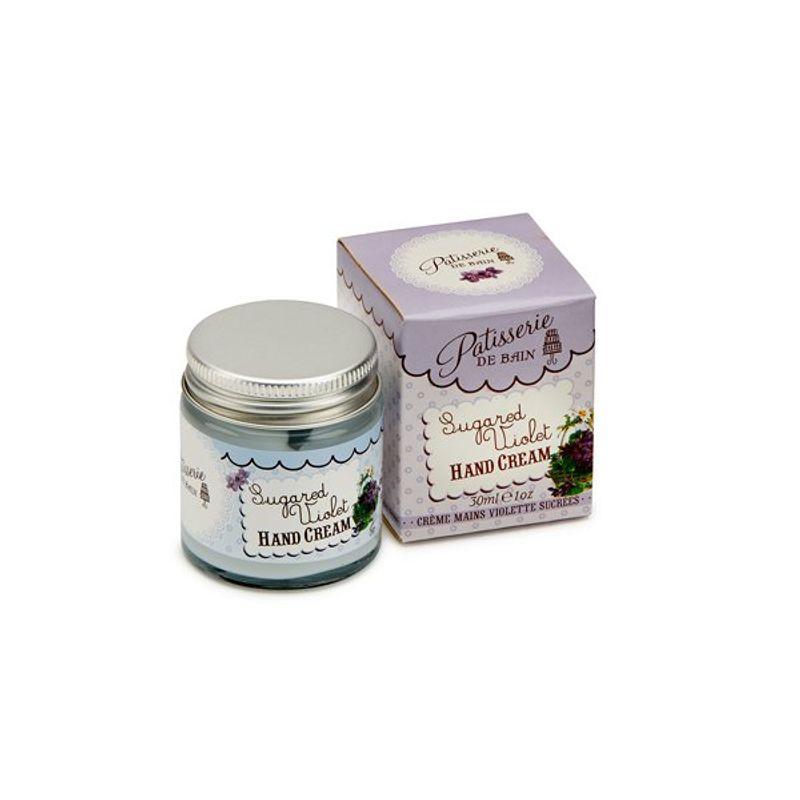 Patisserie De Bain Sugared Violet Hand Cream Jar