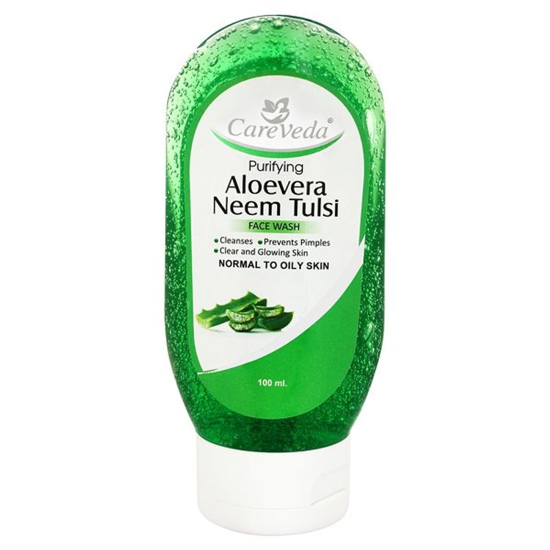 CareVeda Purifying Aloe Vera Neem Tulsi Face Wash