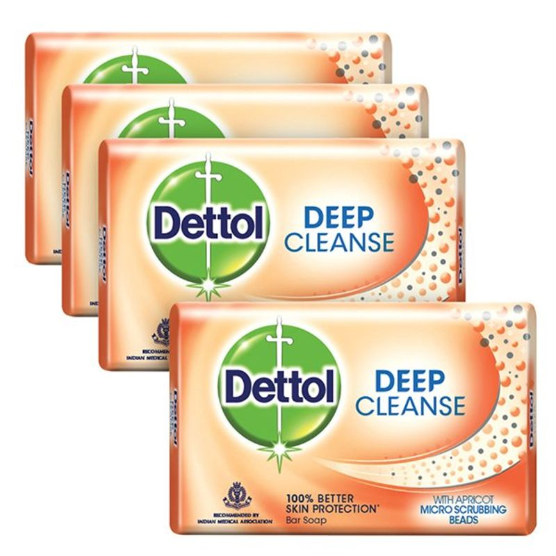 Dettol Deep Cleanse Soap (Buy 3 Get 1 Free) (Off Rs.31)
