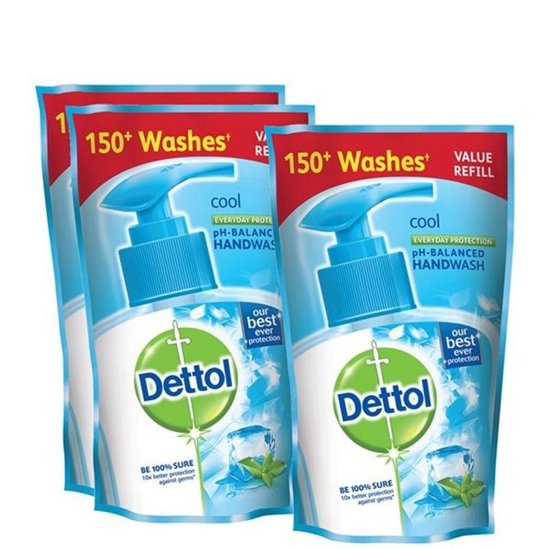 Dettol Cool Liquid Handwash 175 Ml (Buy 2 Get 1 Free) (Off Rs.57)