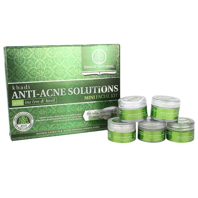 Khadi Natural Anti Acne Mini Facial Kit