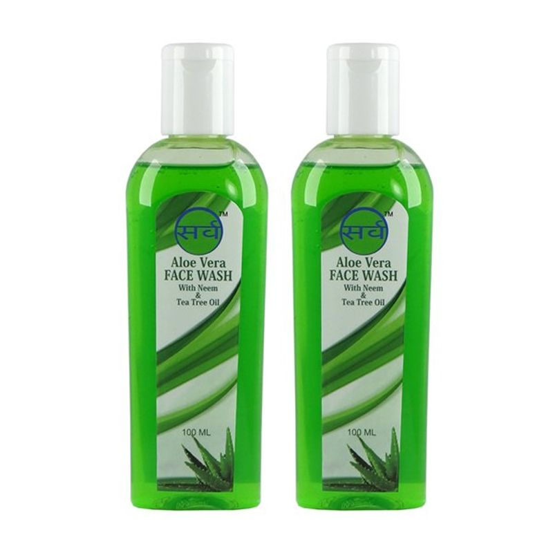 Sarv Aloe Vera Face Wash (Pack Of 2)