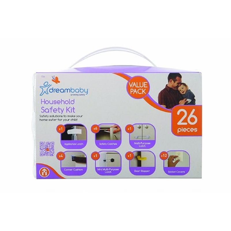 Dreambaby Household Safety Kit Boxed - 26 Pieces
