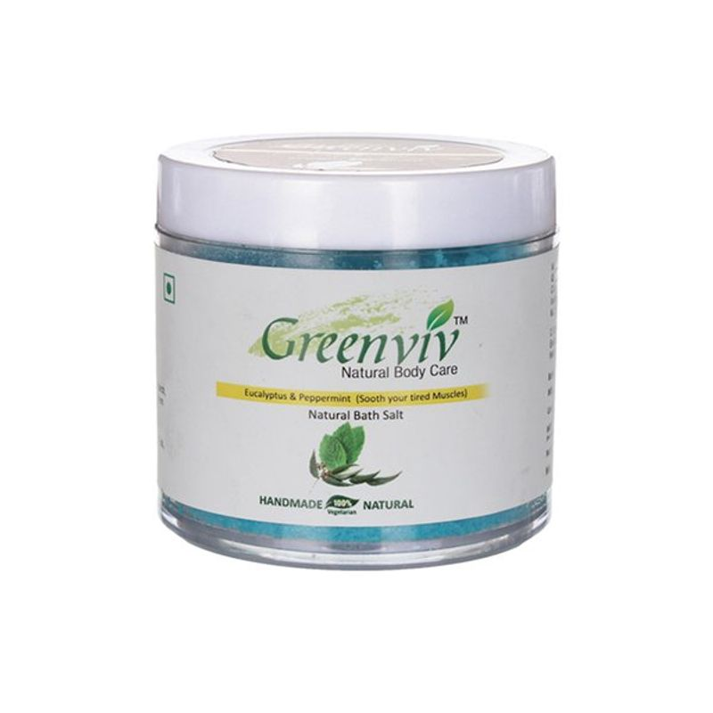 Greenviv Natural Eucalyptus & Peppermint Bath Salt