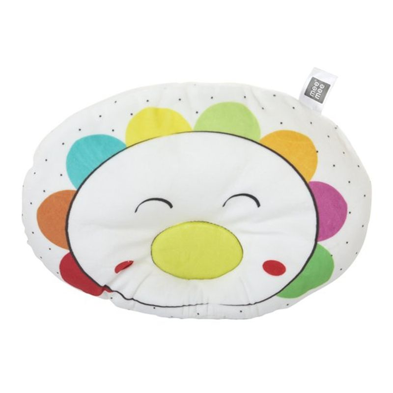 Mee Mee Baby Pillow - White