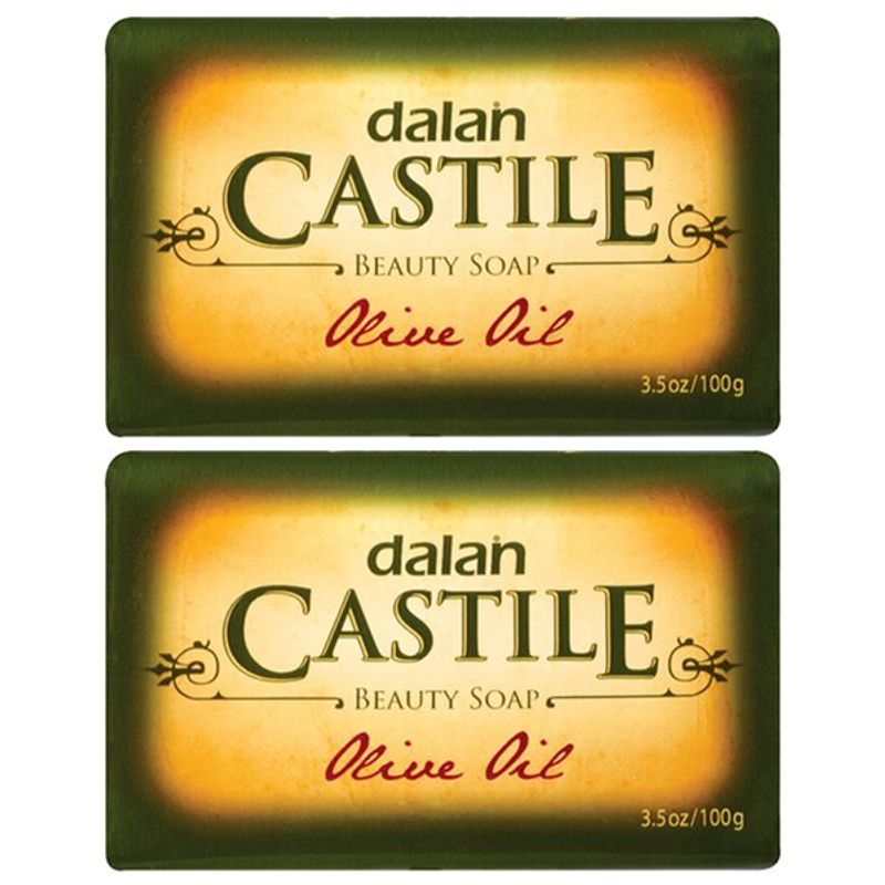 Dalan Castile Olive Oil Beauty Soap (Pack Of 2)