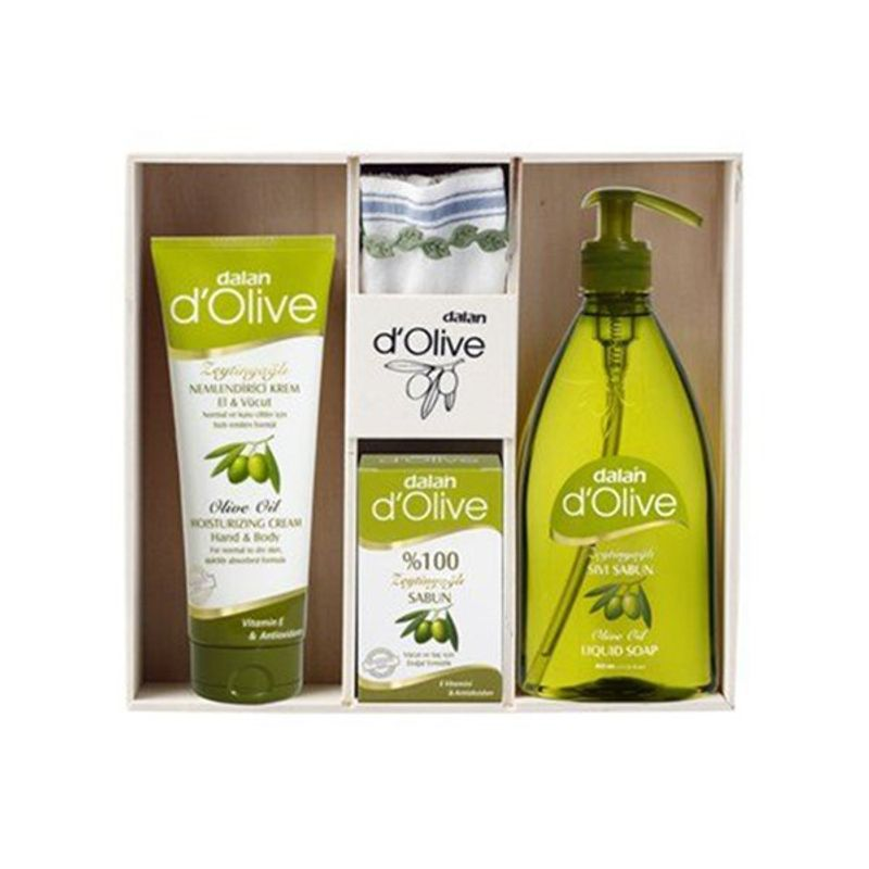 Dalan D'Olive Olive Oil Skin Care Gift Pack