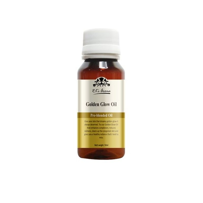 R.K's Aroma Golden Glow Pure Essential Oil Blend