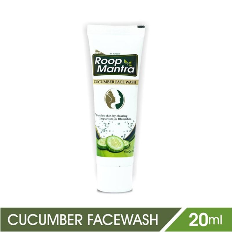 Roop Mantra Herbal Cucumber Face Wash