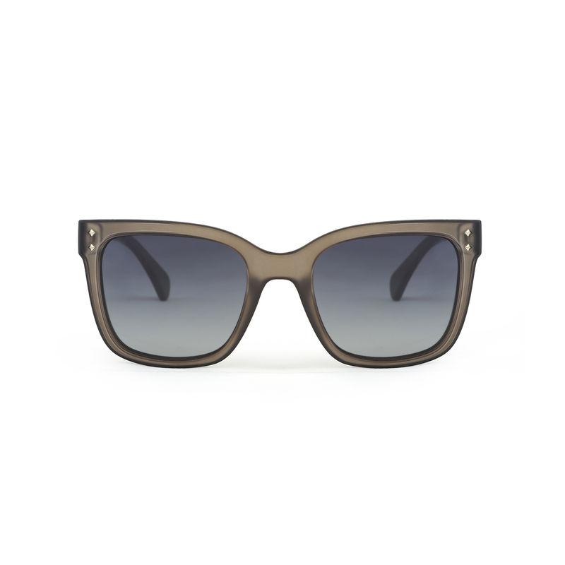 725ecace43d96 Marie Claire MC007 C4 Retro Square Polarized Sunglasses - Grey at Nykaa.com