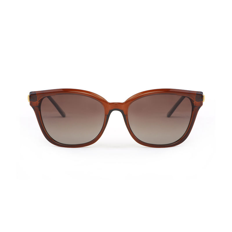 4bfdc8803cccd Marie Claire MC011 C2 Cat-eye Polarized Sunglasses - Brown at Nykaa.com