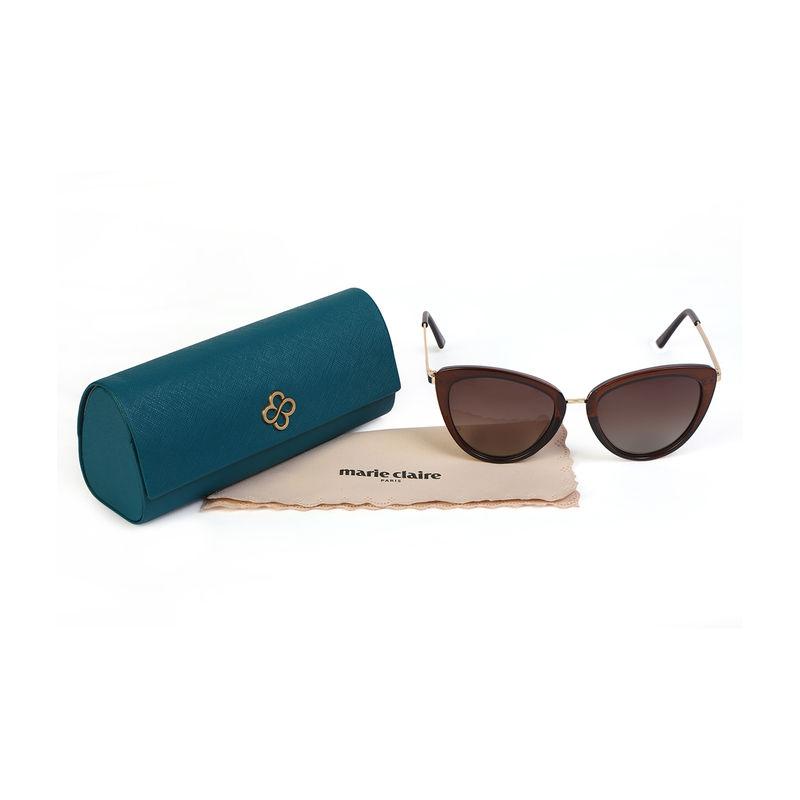 991b264ff8 Marie Claire MC013 C3 Cat-eye Polarized Sunglasses - Amber at Nykaa.com