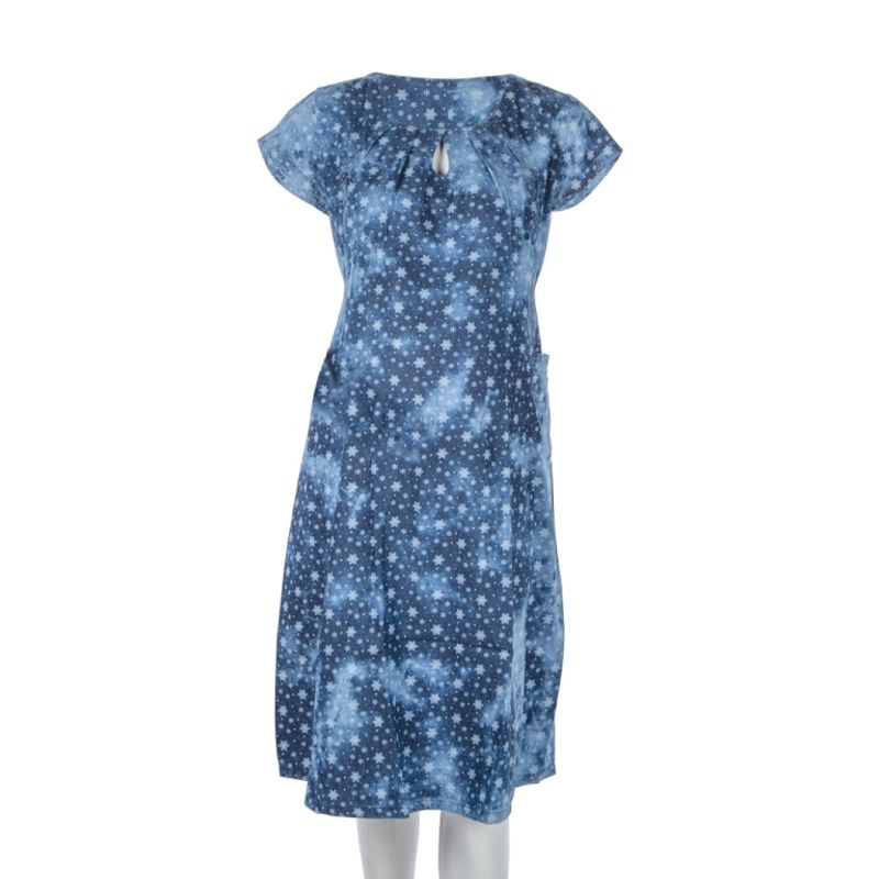Mee Mee Maternity Dress With Feeding Zipper - Flower Print