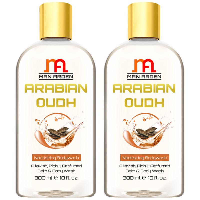 Man Arden Arabian Oudh Moisturizing Shower Gel (Pack Of 2)