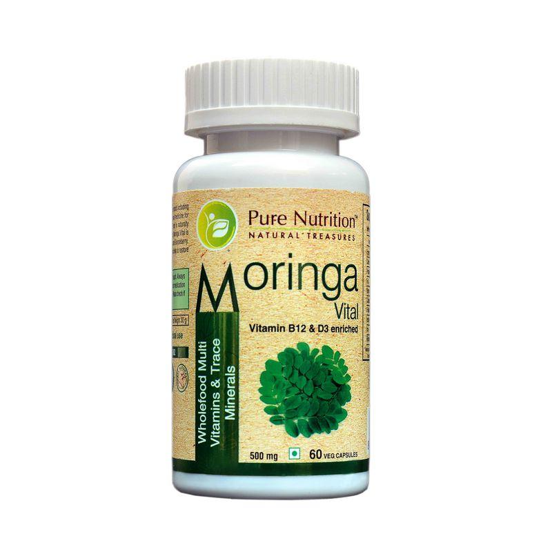 Pure Nutrition Moringa Vital 60 Capsules