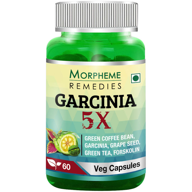 Morpheme Remedies Garcinia 5X - Garcinia, Coffee, Green Tea, Forskolin, Grape Seed