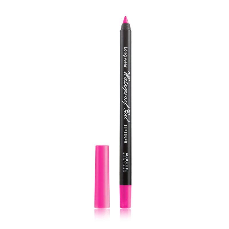 Absolute New York Waterproof Gel Lip Liner - NFB76 Hot Pink