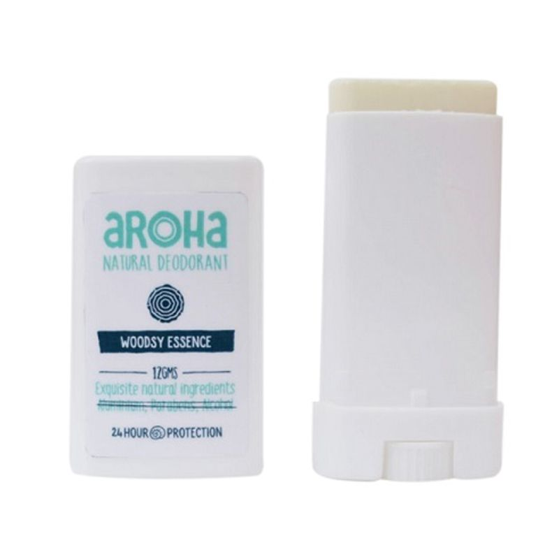 Aroha Woodsy Essence Natural Deodorant (Pocket Size)