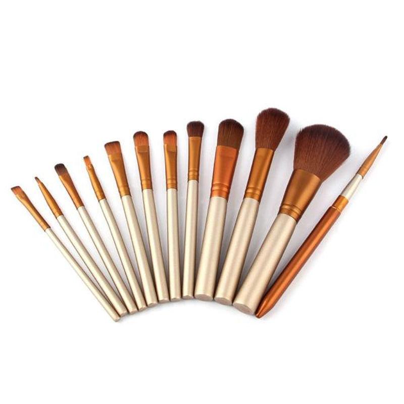 Bronson Professional Mini Makeup Brushes - Set Of 12