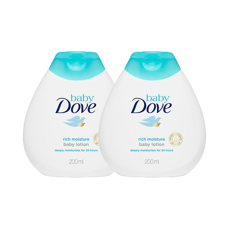 Dove Rich Moisture Baby Lotion Pack Of 2
