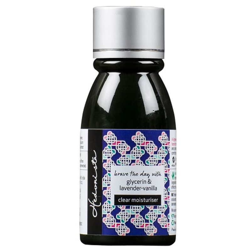 Hedonista Clear Moisturiser With Lavender Oil And Vanilla Extract